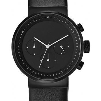 PROJECT WATCHES Kiura BLACK Chronograph