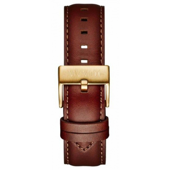 MVMT MENS 40 SERIES 20MM NATURAL LEATHER GOLD