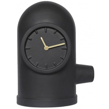 LEFF base table clock black