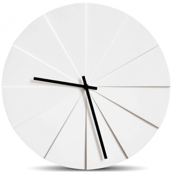 LEFF wall clock scope38 naturel