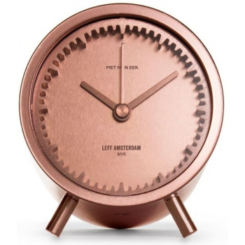 LEFF Tube clock copper