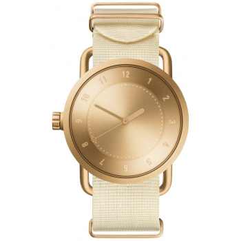 TID Watches No.1 Gold / Off-White Nylon