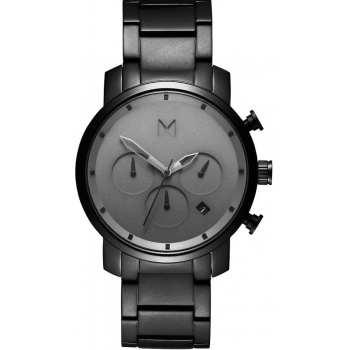 MVMT CHRONO SERIES - 40 MM GREY BLACK LINK