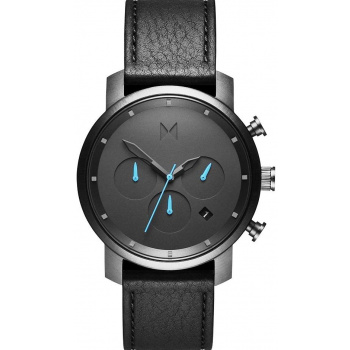 MVMT CHRONO SERIES - 40 MM GUNMETAL BLACK