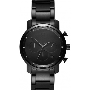 MVMT  CHRONO SERIES - 40 MM BLACK LINK