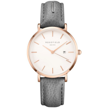 ROSEFIELD THE SEPTEMBER ISSUE GREY / ROSE GOLD 33 MM