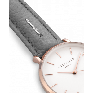 Hodinky ROSEFIELD THE SEPTEMBER ISSUE GREY / ROSE GOLD 33 MM SIGD-I82
