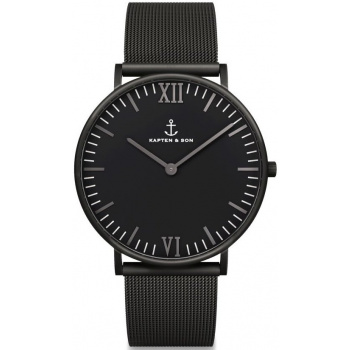 KAPTEN and SON Black Midnight Mesh