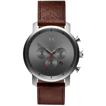 MVMT CHRONO SERIES - 45 MM GUNMETAL CHESTNUT
