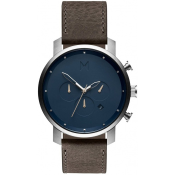MVMT CHRONO SERIES - 45 MM MATTE BLUE CEDAR MC01-WBTL