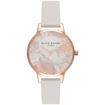 OLIVIA BURTON ABSTRACT FLORALS BLUSH & ROSE GOLD