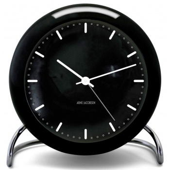 ARNE JACOBSEN AJ TABLE CLOCK CITY HALL W/ALARM