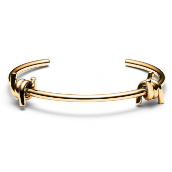 MVMT DOUBLE BARBED CUFF GOLD