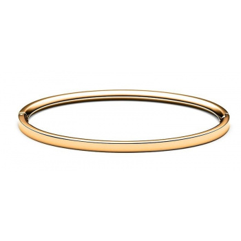 MVMT ELLIPSE BANGLE THIN GOLD