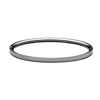 MVMT ELLIPSE BANGLE THIN GUNMETAL