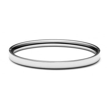 MVMT ELLIPSE BANGLE SILVER