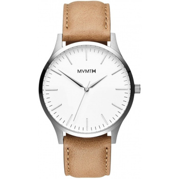 MVMT 40 SERIES - 40 MM WHITE CARAMEL