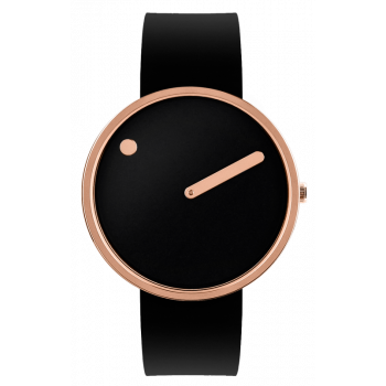 PICTO BLACK/POLISHED ROSE GOLD 43312-0120R