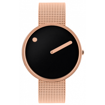 PICTO BLACK/POLISHED ROSE GOLD 43312-1120