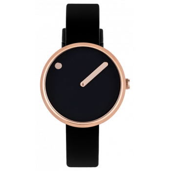 PICTO BLACK/POLISHED ROSE GOLD 43311-0112R