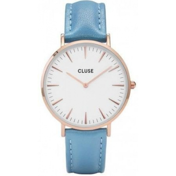 CLUSE LA BOHÈME ROSE GOLD WHITE/RETRO BLUE