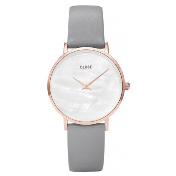 CLUSE MINUIT LA PERLE ROSE GOLD WHITE PEARL/STONE GREY