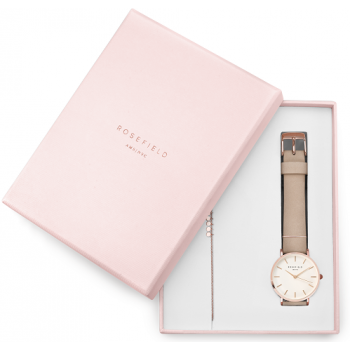 ROSEFIELD West Village Soft Pink + Baxter Rose Gold Gift Set
