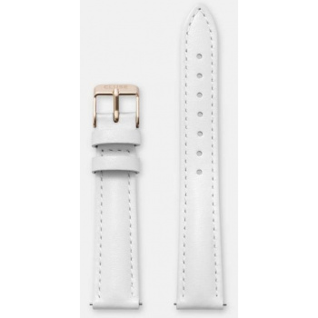 CLUSE STRAP 16 MM - WHITE/ROSE GOLD
