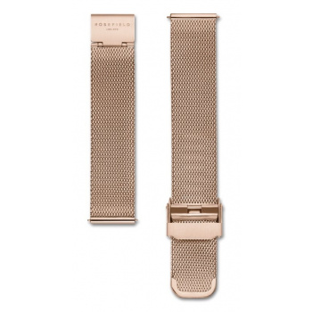 ROSEFIELD MERCER ROSE GOLD MESH STRAP ROSE GOLD / 38MM