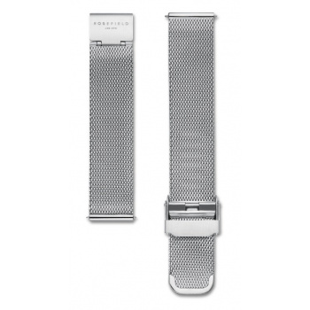 ROSEFIELD MERCER SILVER MESH STRAP SILVER / 38MM