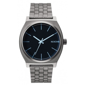 NIXON TIME TELLER GUNMETAL / BLUE CRYSTAL