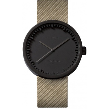 LEFF TUBE WATCH D42 / BLACK SAND CORDURA STRAP