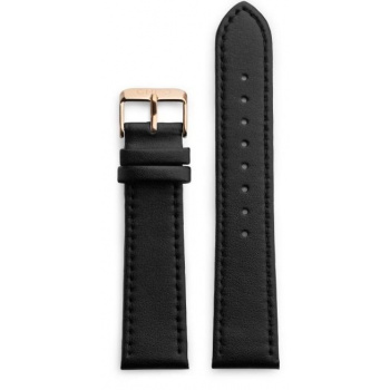 CHPO 14230II-S Black Vegan Leather Strap - 20 mm