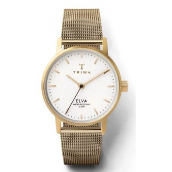 TRIWA IVORY ELVA GOLD CLASSIC DIAL