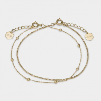 CLUSE ESSENTIELLE GOLD SET OF ​TWO ​FINE BRACELETS CLJ11010