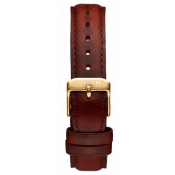 MVMT WOMENS BOULEVARD SERIES 18MM NATURAL LEATHER GOLD