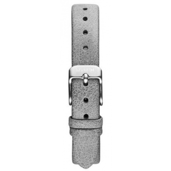 MVMT WOMENS MOD SERIES MOD - 12MM GREY LEATHER SILVER