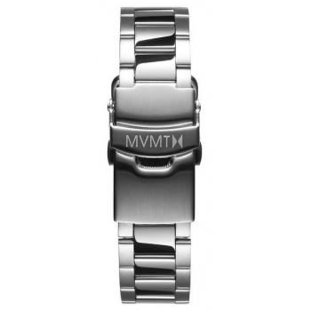 MVMT WOMENS BLOOM SERIES 16MM STEEL BAND SILVER