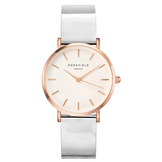 Hodinky ROSEFIELD PREMIUM GLOSS METALLIC - ROSE GOLD / 33MM