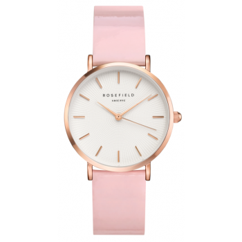ROSEFIELD PREMIUM GLOSS PINK - ROSE GOLD / 33MM