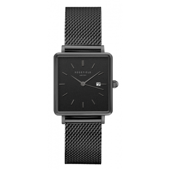 ROSEFIELD THE BOXY BLACK - BLACK / 33MM