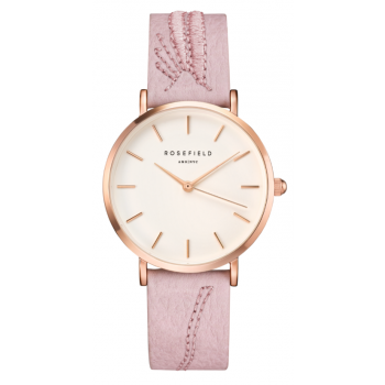 ROSEFIELD CITY BLOOM BLOSSOM WHITE - ROSE GOLD / 33MM
