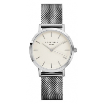 ROSEFIELD THE TRIBECA WHITE - SILVER / 33MM