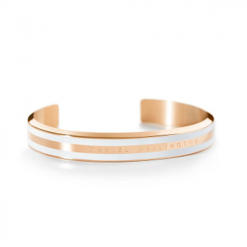 DANIEL WELLINGTON CLASSIC BRACELET WHITE - Rose Gold - small DW00400007