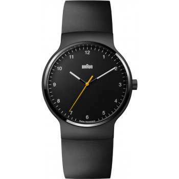 BRAUN GENST BN0221 PRESTIGE SLIM WATCH WITH RUBBER STRAP