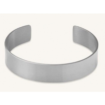 ROSEFIELD BAR BANGLE SILVER
