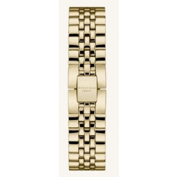 ROSEFIELD THE ACE STRAP STEEL GOLD/ 38 MM