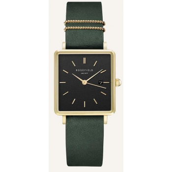 ROSEFIELD THE BOXY BLACK FOREST GREEN GOLD / 33 MM