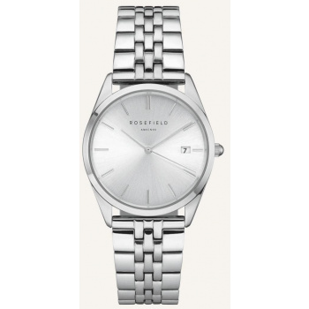 ROSEFIELD THE ACE SILVER SUNRAY SILVER / 38 MM