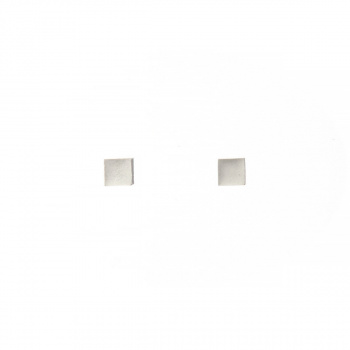 22 DESIGN STUDIO Cube Earring S White